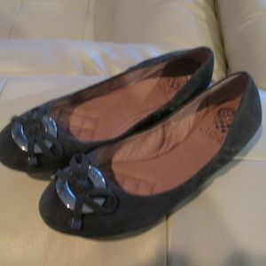 Vince Camuto Farina Suede Ballet Flats